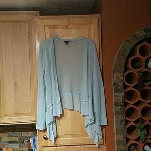 Torrid Light Blue Long Sleeve Cardigan Sweater
